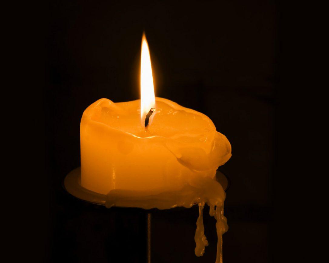 Il moccolo della candela
