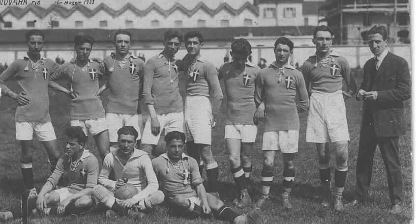 NOVARA-SPEZIA 4-0 1 giugno 1930
