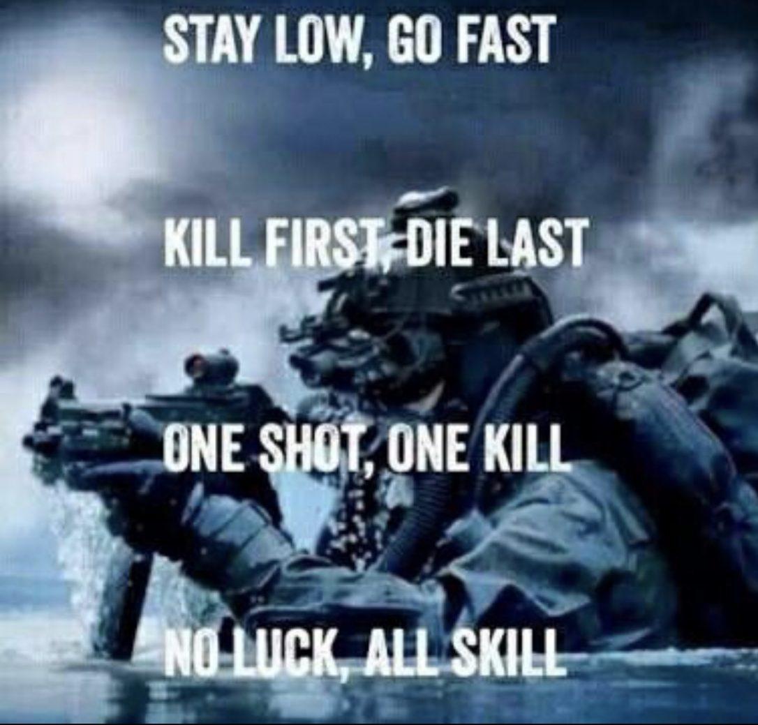 Nessuno è più preciso di un cecchino dei Navy Seals che una madre con una ciabatta