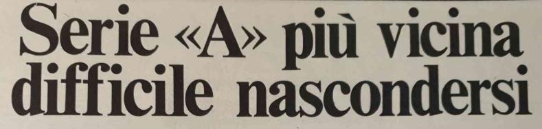 1975/76 sedicesima puntata ATALANTA E CATANZARO