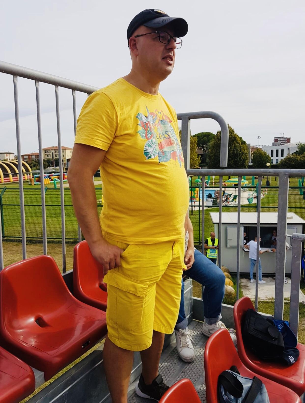 Il giallo è solo in curva
