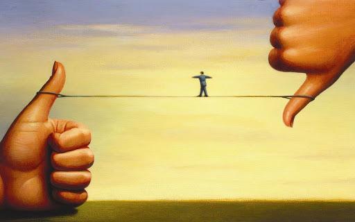 Equilibrio si, equilibrio no.