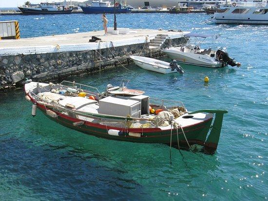 La barca nel porto