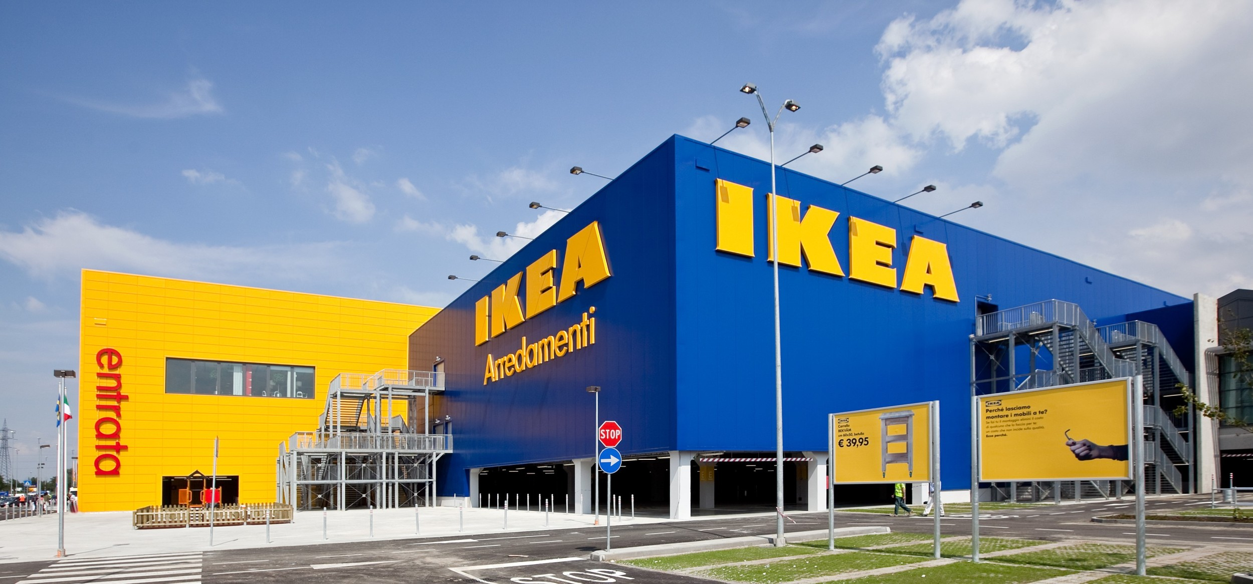 Un sabato all'Ikea.