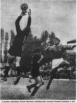 NOVARA-SALERNITANA 2-0 30 ottobre 1966