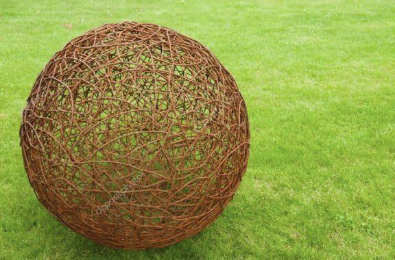 Le palle di filo spinato