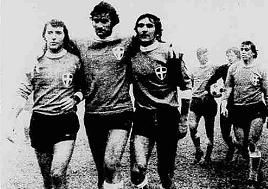 NOVARA-PERUGIA 2-1 23 dicembre 1973
