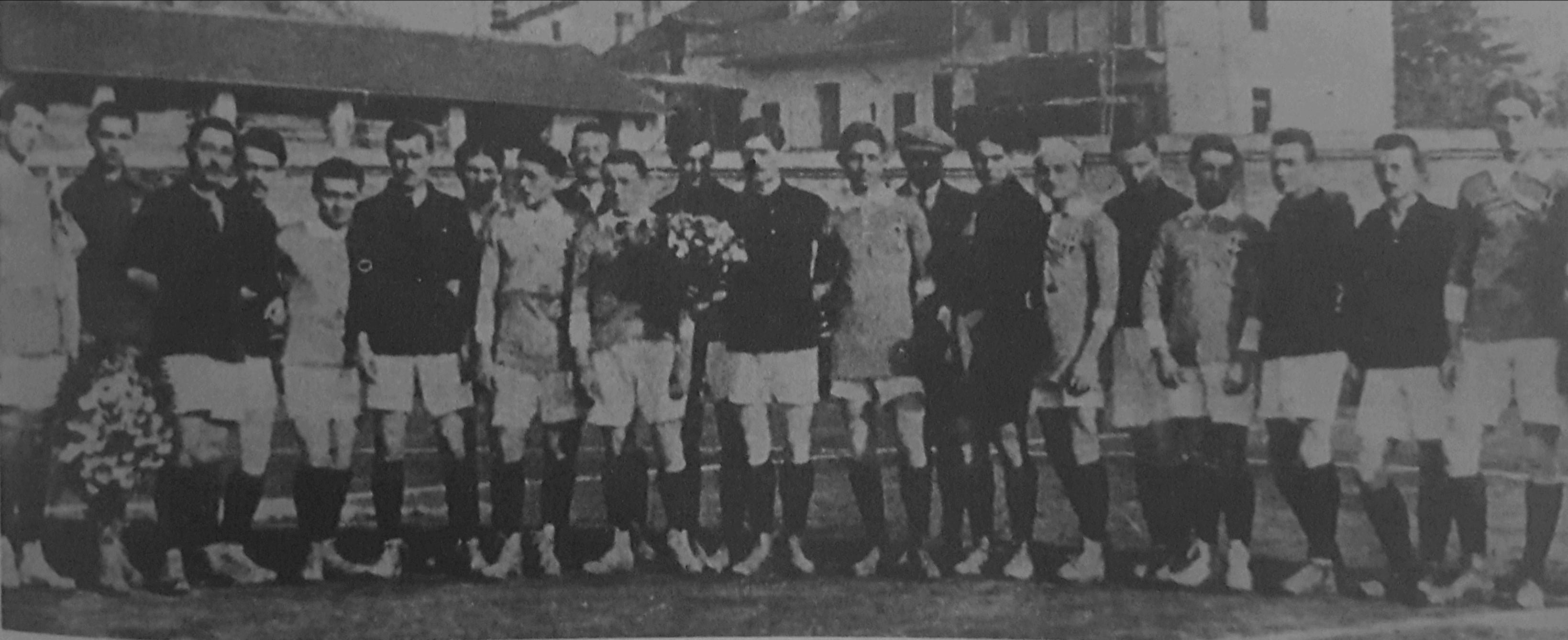 20 ottobre 1912 – LA PRIMA VOLTA