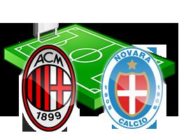 Milan – Novara 0-2, tutto il resto è noia