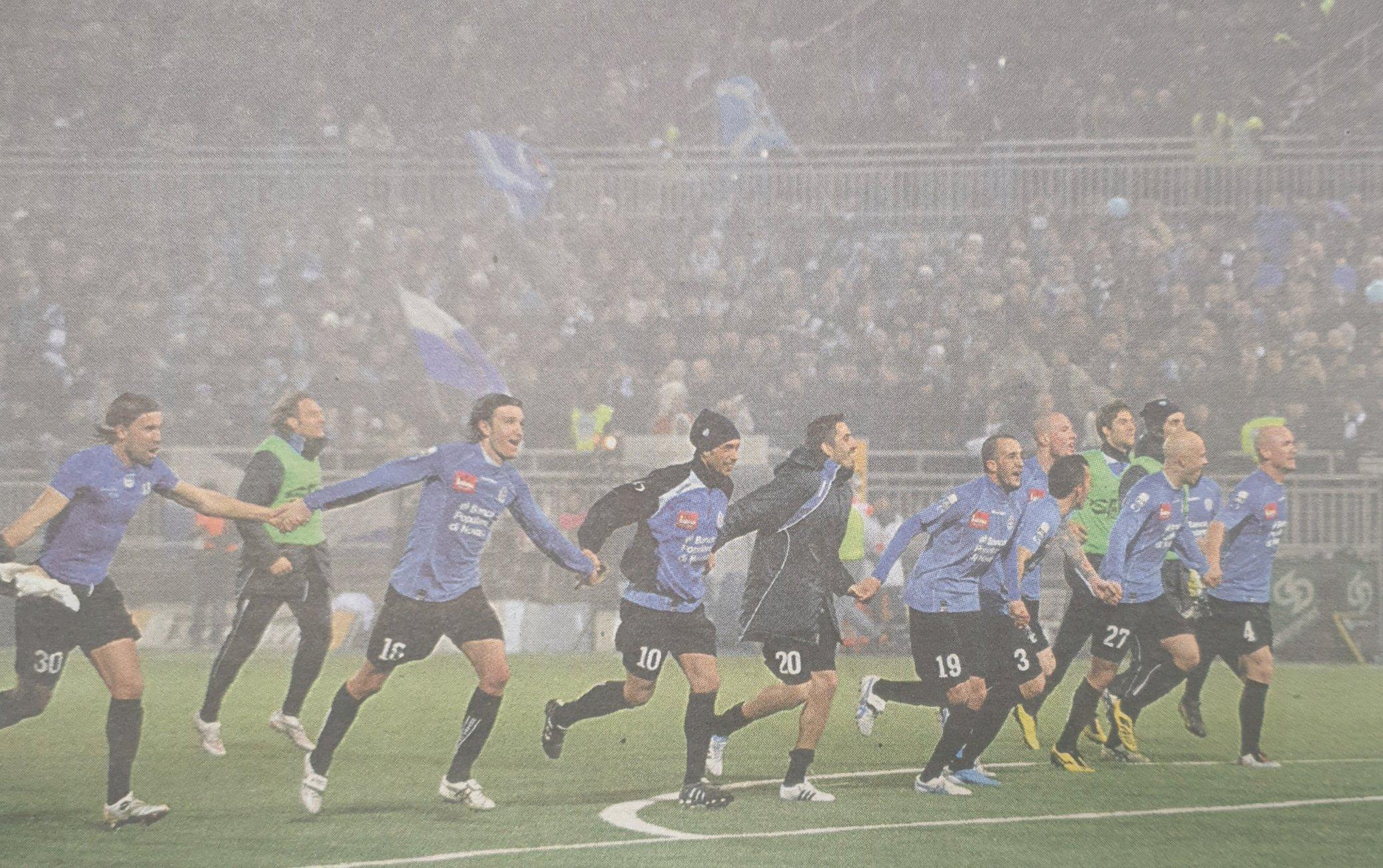 Campionato 2010/11 dieci anni dopo (quinta parte 25-30 giornata)